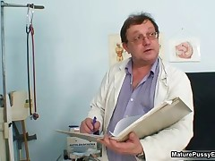 Thick Mom With Big Natural Tits Gets Abused By A Horny Doctor By MaturePussyExams