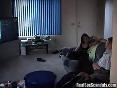 Horny Dude Caught Making Out With His Ex Wife