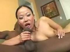Niya prepares her pussy for a big black cock