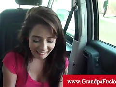 Allison Banks - Allison Banks Wants Into The Business So Blows Old Man In His Car