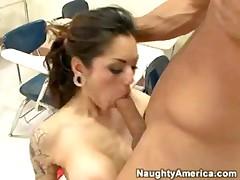 Adrenalynn - Gets A Cock Between Her Fine Titties