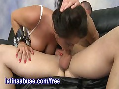 Cali Couture - Cali Couture Is A Sexy Latina With Big Jugs, She Puts A Dick Deep In Her Throat And T