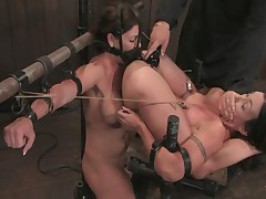 Claire Dames And Wenona - Device Bondage