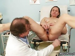 Fake Doctor Loves Abusing His Horny Female Patients Their Tight Wet Pussy By MaturePussyExams