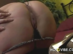 Hot Babe Fingers Her Sexy Horny Pussy And Sucks On Young Hard Cock