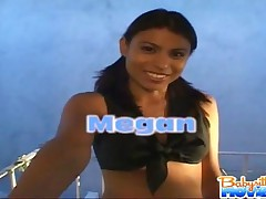 Megan Martinez - Hot Megan Sucking Boss Cock To Drive His BW