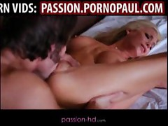 Sexy Blond Babe Gets Stripped Naked For Pussy Penetration