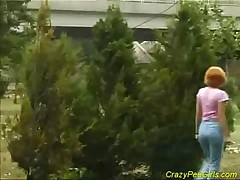 Crazy Pee Girl Pissng Hard Sex On The Edge Of The Road