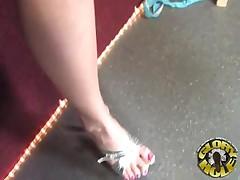 Brittany Angel - Blonde In Gloryhole Fun