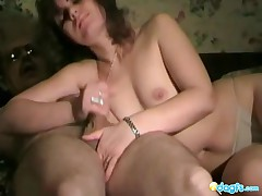 Olya - Not Only Olya Has A Hot Ass And Pretty Face, She Also Gives A Nice Handjob