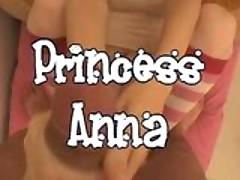 Princess Anna royal blowjob!!