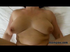 Brunette Mature Milf Fucks And Sucks