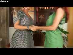 Cinthia Piu Vs Shayla Dantas - Tranny Formers - Scene 3