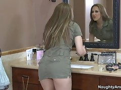 Kiera King Vs Will Powers - Naughty Rich Girls - Kiera Has Always Been A Spoiled Girl Who Loves To F