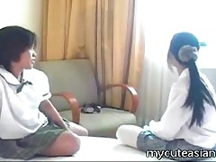 Bunny And Rodah - Nothing Beats Watching Two Horny Asian Girls Playing With Each Other Just Like The