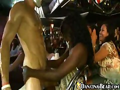 Dancing Bear - CFNM - Wild Women Like Their Strippers