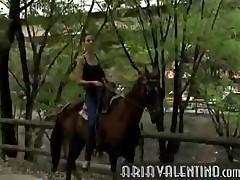 Aria Valentino - Horse Ride