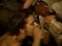 Dirty Cowboys Take Her Mouth By Surprise