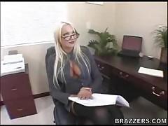 Donna Doll - Big Tits At Work