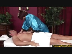 Monroe Valentino - Monroe Valentino Is Sucking Her Clients Cock And Giving A Handjob Till Cumshot