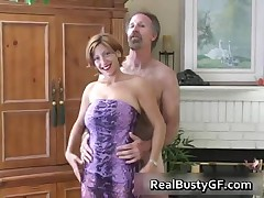 Fine Ass Hot Mom Licking Fat Cock 1 By RealBustyGF