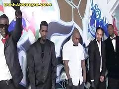 Blonde Visits Black Men To Give Oral Service