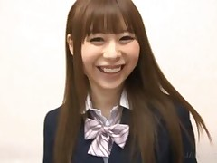 Shy Japanese Cute Schoolgirl Sucking Dick