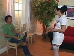 Taryn Thomas - Cute Nurse Taryn Thomas Fucking In The Doctors Office