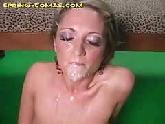 Spring Thomas - Spring Gets Facial And Her Bf Cleans Up