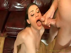 Charley Chase - Hot Babe Charley Chase Receives Hot Fresh Cum On Her Face
