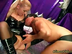 Hot Couple Playing BDSM Games - Part 1
