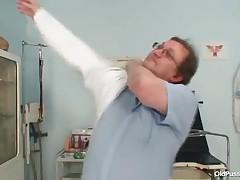 Zora - Big Tits Plump Milf Zora Hairy Pussy Inspection