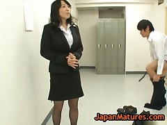 Natsumi Kitahara - Natsumi Kitahara Rimming Some Guy And Gives Wankjob 3 By JapanMatures