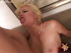 Adrianna Nicole - Adrianna Getting Pounded By Two Cocks