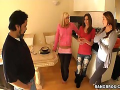 Allie Haze And Victoria Lawson And Jessica Lynn - Fuck Team Five - Not So Handy!