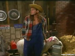Jeanie Rivers - Farmers Daughters On The Farm - Scene 1