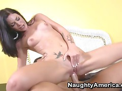 Andy San Dimas - My Sisters Hot Friend - Andy San Dimas Rides Rocco Reeds Cock Like A Champ!