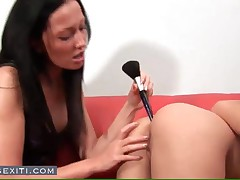 Stela - Awesome European Lesbians Toying Asses