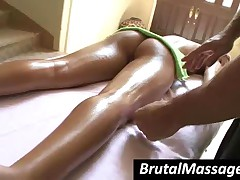Kara Novak - Splendid Blonde Hoe Gets Hot Ass Massaged With Oil
