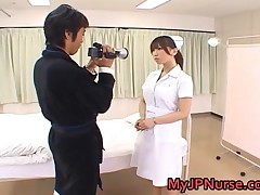 Ai Sayama - Ai Sayama Naughty Asian Nurse Is Horny 1 By MyJPNurse