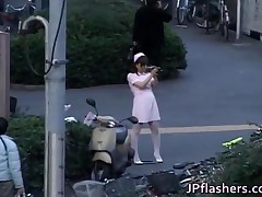 Naughty Asian Girl Is Pissing In Public 1 By JPflashers