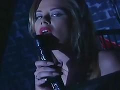 Paisley Hunter - Milf Paisley Hunter Masturbates In Latex And Stockings With A Dildo