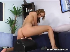 Carmen Gemini - Slutty Chick On The Sybian