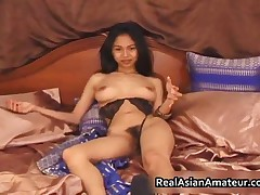 Nude Asian Teen Plays With Huge Dildo On The Couch 11 By RealAsianAmateur