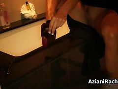 Rachel Aziani - Sexy High Heels And Stockings Taken Off To Expose The Sexy Feet By AzianiRachel