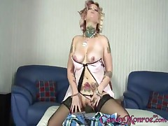 Candy Monroe And Ace And Bo - Blacks On Cougars