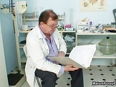 Grandma Gets Her Tits Checked By A Horny Old Doctor By MaturePussyExams