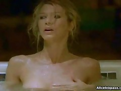 Amber Smith - Amber Smith Exposing Her Breast