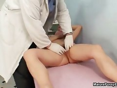 Fake Doctor Abusing A Mature Patient Her Tight Wet Pussy By MaturePussyExams