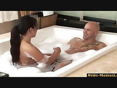 Kayme Kai - Massage Using Nuru Gel Goes Anal Until The Guy Shoots His Load